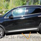 FIAT 500X Seitenleisten