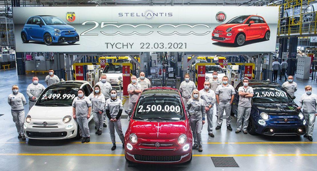 Meilenstein im Stellantis Werk in Tychy: 2,5 Millionen Fiat 500 gebaut