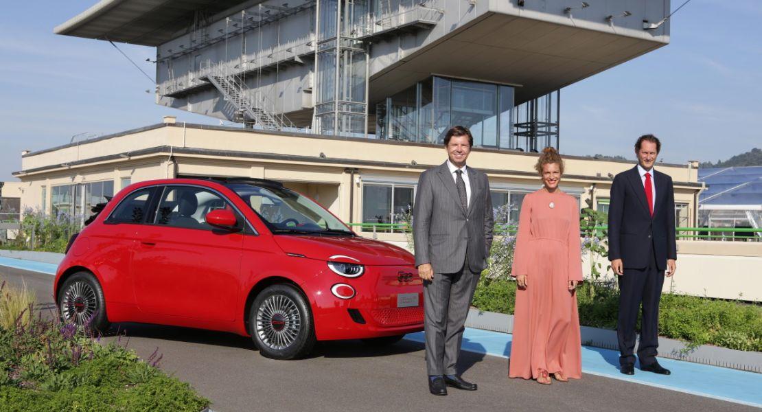 """""""Planting the seeds of our future"""" –  Eröffnung von """"Casa 500"""" und """"La Pista 500"""", dem """"grünen"""" Manifest von FIAT, und Vorstellung des neuen Fiat (500)RED"""